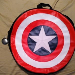Marvel Captain America leather backpack